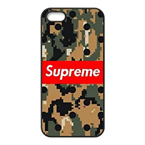 Supreme Logo for iPhone 5 5s Custom Cell Phone Case Cover 99TY018212