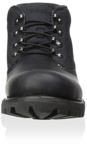 Timberland Mens 6-Inch Campsite Leather Boots Black