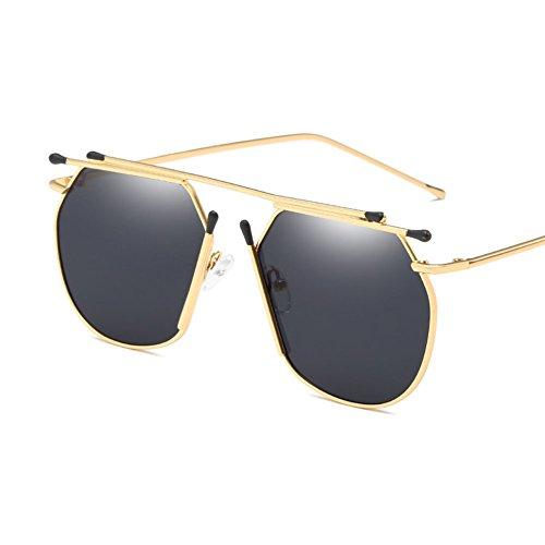Coincidencias Blue Blackgray De para amp;HA Z Metal Glasses Gafas Designer Style Sol Fashion Ocean Mujer Eyewear De Trends Decorativas wCpTTf5q