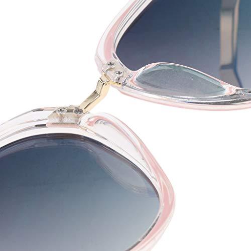 Polarisées Uv Lunettes Soleil Femmes Sharplace Rose Unisexe 400 de Protection Hommes PtYqWdnf4