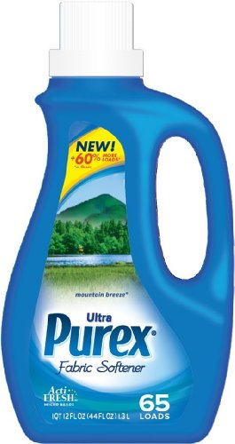 Purex Ultra Liquid Fabric Softener, Mountain Breeze, 44 Ounce