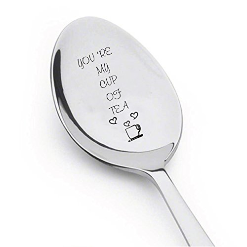 You're My Cup of Tea Spoon - Spoon For Hot Tea - Flatware for Dining & Entertaining ()