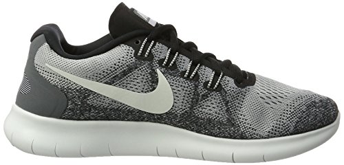 Free Rn White pure Grey Wolf Nike Shoes Off 2017 Grey Platinum Running black Women's E5nBqc1