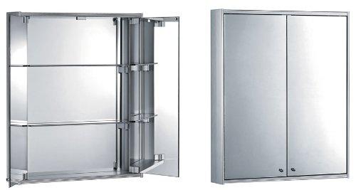 Whitehaus Collection WHFUT-27 Medicine Cabinet, Aluminum