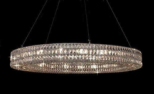 "Crystal Nimbus Ring Chandelier Chandeliers Modern Contemporary Lighting  Pendant 59"" Wide - Good for 180fdd2c1e"