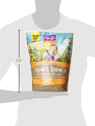 Halo Dry Cat Food Calories