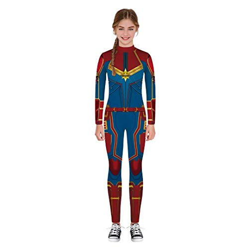 Tsyllyp Girls Boys Kids Halloween Cosplay Costumes Jumpsuit Bodysuit 3D Print