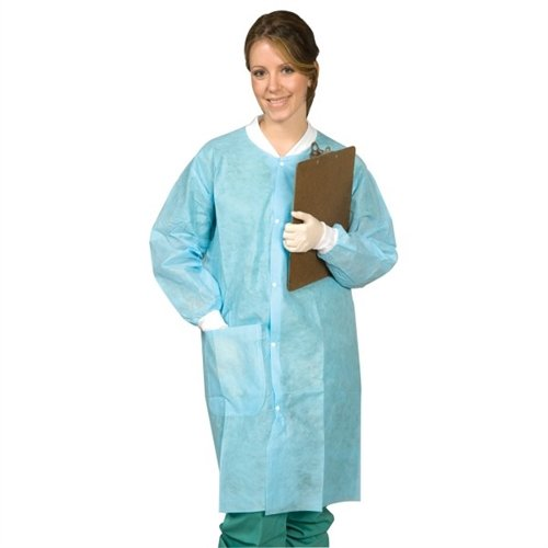 DISPOSABLE LAB COAT - XXX-LARGE [SG-9008] by DMi Products