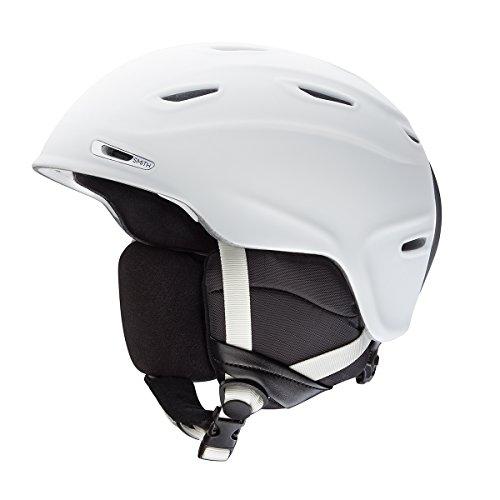 X-large Snowmobiles Helmets - Smith Optics Adult Aspect MIPS Ski Snowmobile Helmet - Matte White / Xlarge