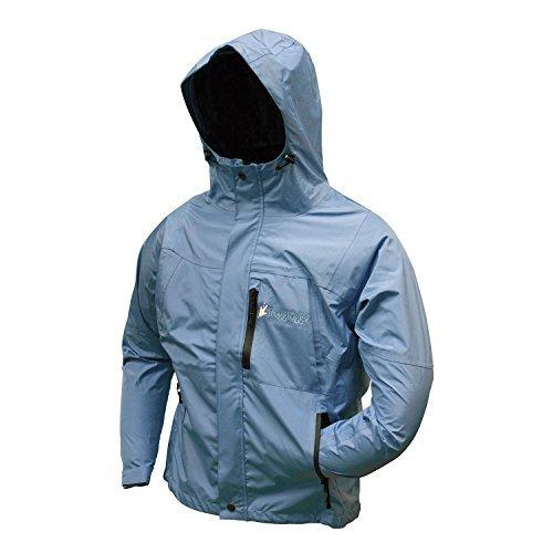 Frogg Toggs Women's ToadRage II Rain Jacket, SKY BLUE, Waterproof, Medium