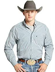 Panhandle Tuf Cooper Men's L/S Western Shirt (L)