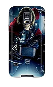 New Style Case Cover KDEAidk7247vdSpL Thor Movie Multi Monitor Compatible With Galaxy S5 Protection Case