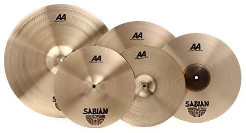Sabian AA Performance Cymbal Set - 4-piece with Free 18
