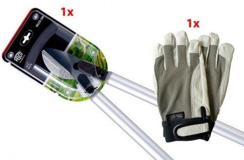 FELCO 230 Astschere inkl. Handschuhe