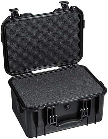 Shiwaki 強力 ツールボックス 耐衝撃 防水 気密性 工具ボックス 工具箱 スポンジ 取っ手付き 工具ケース 複合バックル - B