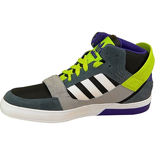 Adidas HARDCOURT DEFENDER Chaussures Sneakers Mode Homme Cuir Suede Gris ADIDAS