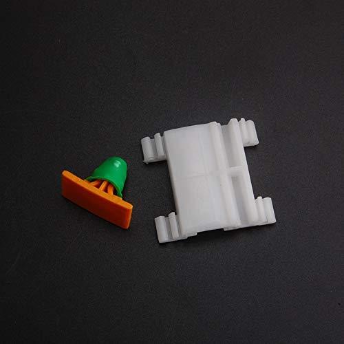 Fastener & Clip 20X Nylon Quarter Panel Moulding Clip Retainer Car Clips Fit for Audi VW Door Fender -