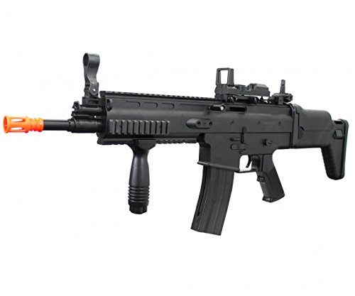 UKARMS MK16 Spring Airsoft Rifle Gun FPS 335 w/ Folding Rear Stock (Folding Ris Stock)