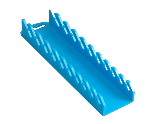 Blue Wrench Rack - Protoco 5171 Stubby Wrench Rack, Blue Magnetic, 10-Piece