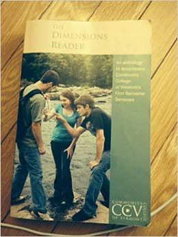 The Dimensions Reader (7th Ed) (CCV First Semester)