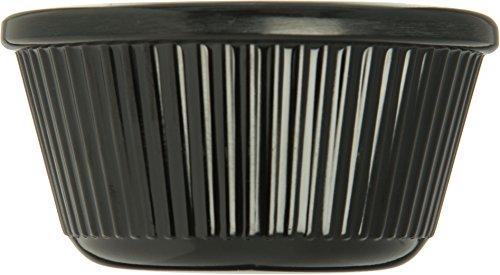 Carlisle S28203 Melamine Fluted Ramekin, 3 oz. Capacity, Black (Case of 48) by Carlisle (Image #3)