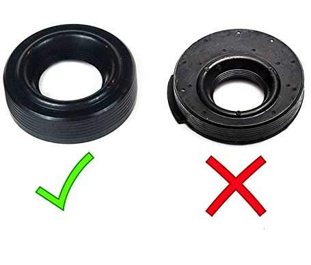 Set VCT Variable Camshaft Timing Solenoid Valve Cover Grommet Seal For Ford