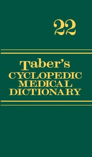 Taber's Cyclopedic Medical Dictionary (22nd 2013) [Venes]