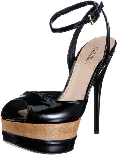 femmes Nero pour pour sandales Sebastian femmes Chaussures Professional Schwarz H57Onfxw