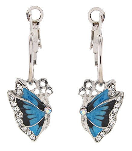 e Butterfly Small Hoop Earrings ()
