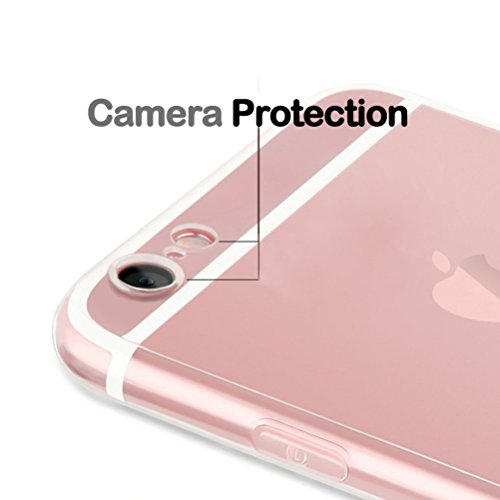 iPhone 7 / iPhone 8 Flamingo Funda de Silicona con Protector de Pantalla de Vidrio Templado, Blossom01 TPU Ultra Fina Cover de Silicona con Dibujo Animado Lindo para iPhone 7 2016 / iPhone 8 2017 #13