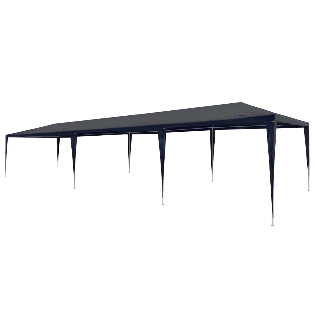 Festnight 10' x 30' Garden Outdoor Gazebo Canopy Pop Up Sun Steel Frame Shade Heavy Duty Patio Party Wedding Tent BBQ Camping Shelter Waterproof Pavilion Cater Events Blue by Festnight