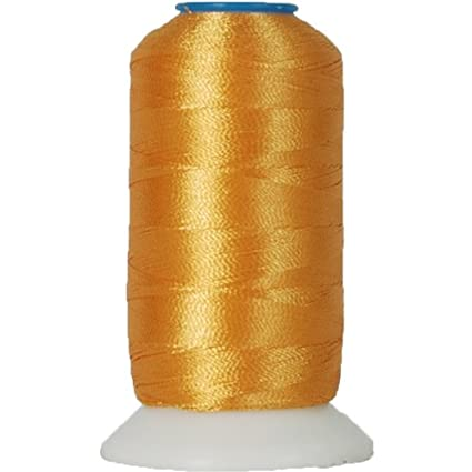 Amazon Rayon Embroidery Thread No 124 1000m Old Gold