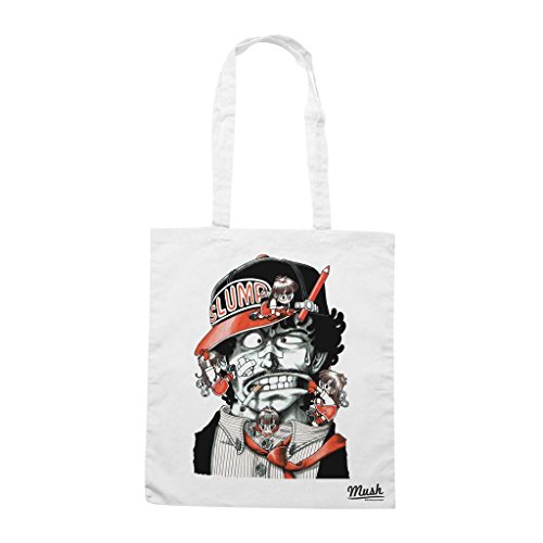 Borsa Arale Dr. Slump - Bianca - Cartoon by Mush Dress Your Style