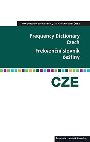 Frequency Dictionary Czech  Frekvenční Slovník češtiny  Frequency Dictionaries