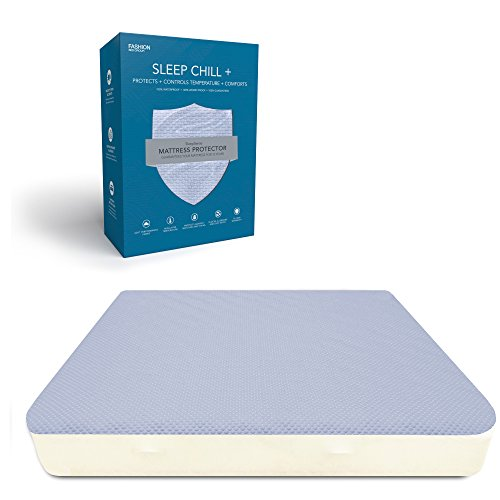 Crystal Mattress Protector Cooling Fibers product image