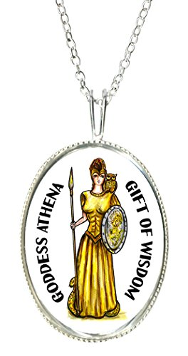 Goddess Lady Cameo - Goddess Athena of Wisdom 925 Sterling Silver 1