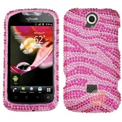 MYBAT Diamante Protector Cover Compatible With HUAWEI U8730 / myTouch