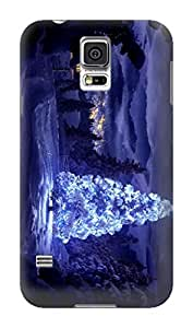 lorgz New Style fashionable designed TPU phone protection case For Samsung Galaxy s5 with Fresh Patterns