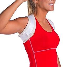 Women\'s Posture Improvement & Collarbone Pain Brace-L