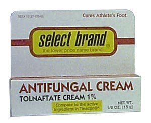 Major Pharmaceuticals Antifungal Cream (Tolnaftate 1% - generic Tinactin) .5 oz