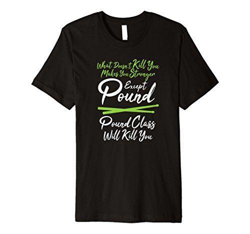 (Pound Class Drumsticks Fitness Workout Tshirt Tee)