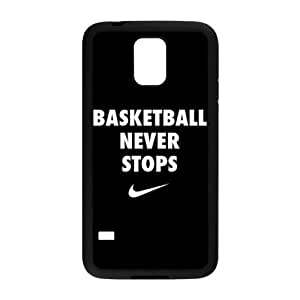 basketball never stops Phone Case for Samsung Galaxy S5 Case by runtopwell