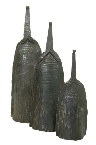Alo Bell Set - Togo Iron Bell - Set of 3 by Africa Heartwood Project