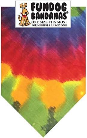 Nebula Tie Dye Dog Bandana