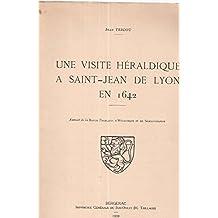 Une visite héraldique à Saint-Jean de Lyion en 1642
