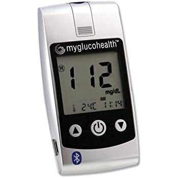 Amazon Com Myglucohealth Blood Glucose Starter Kit With