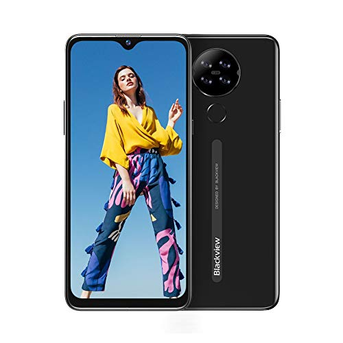 🥇 Blackview A80 Moviles Libres 4G Android 10 GO con 6.21″ HD+ Water-Drop Screen