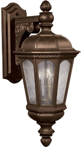 Kichler Lighting 9767LZ 3 Light Beacon Hill Outdoor Sconce, Legacy - Beacon Legacy Home