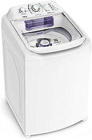 Máquina de Lavar 12kg Electrolux Turbo Economia, Silenciosa com Cesto Inox e Jet&Clean (LAC12)