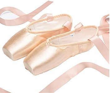 "Used Nexete Professional /""Vanassa/"" Pointe Ballet Shoes Girl Women"